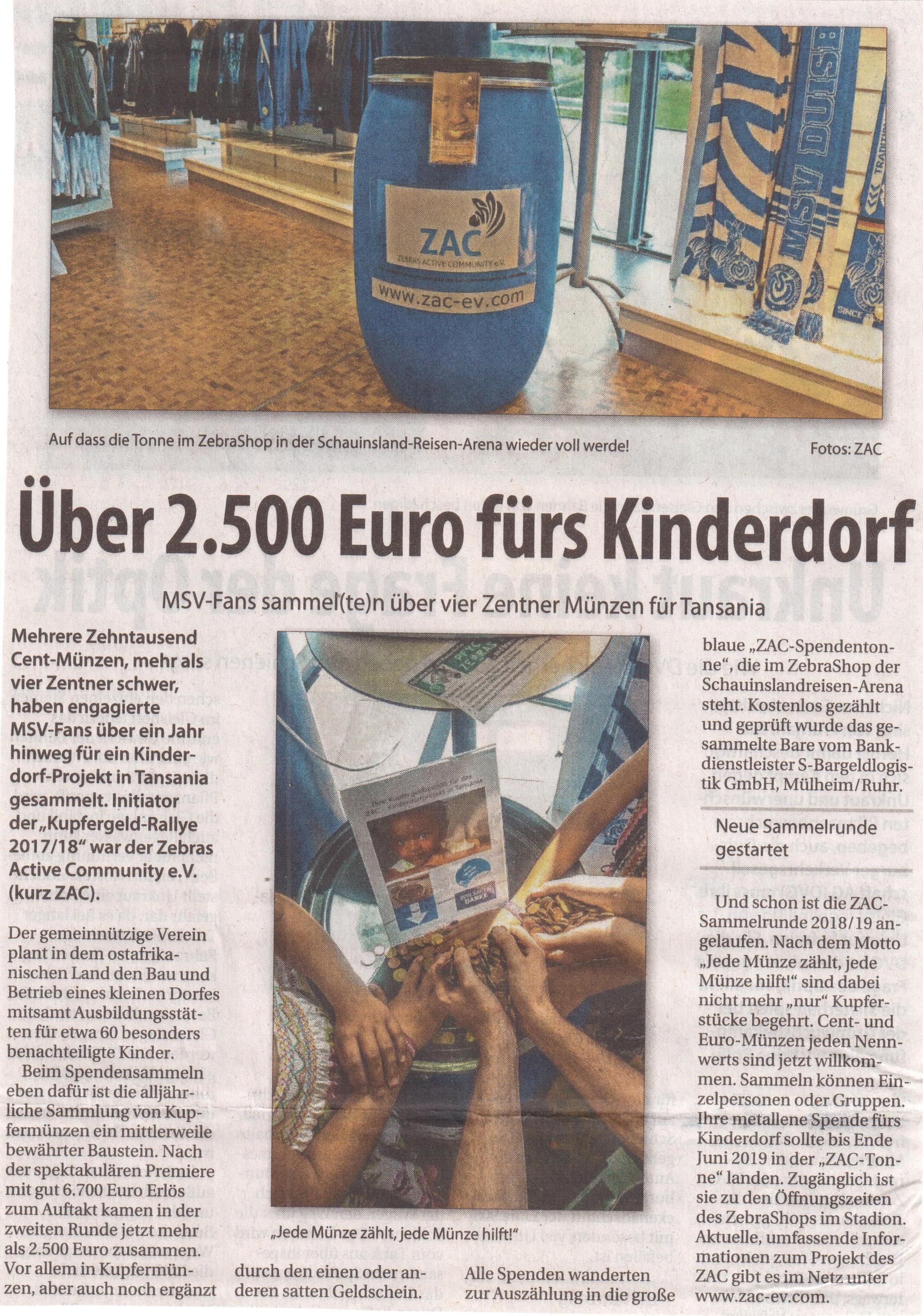 ZAC-Münz-Aktion - Wochenanzeiger DU 25.07.18 001.jpg